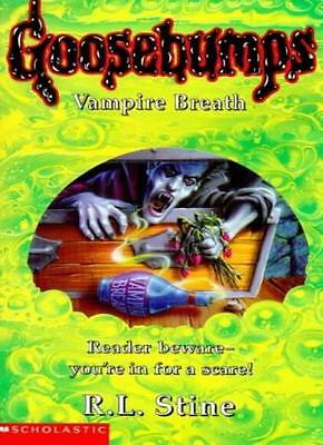Vampire Breath (Goosebumps) By R. L. Stine. 9780590197496