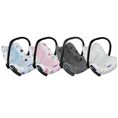 Dooky Infant Car Seat Cover Baby Carrier Universal Removable Stylish Protector