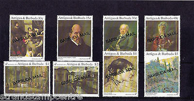 Antigua & Barbuda - 1993 Granada - Spanish Paintings - U/M - SG 1416-23