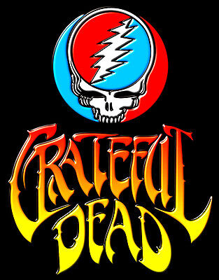 "3.25"" Grateful Dead Space Your Face VINYL Bumper STICKER. For car Bong or pipe."
