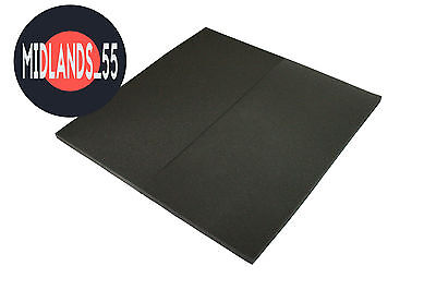2x SLB100 SLAB Pro Acoustic Foam Panels Studio Room Treatment 1000x500x30mm