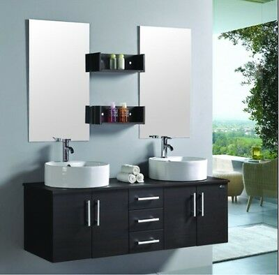 meuble salle de bain double vasque luxe beau meuble double vasque 120 cm wm eur 711 55. Black Bedroom Furniture Sets. Home Design Ideas