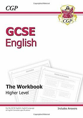 GCSE English Workbook (including Answers) (A*-G course... by CGP Books Paperback