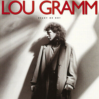 Lou Gramm : Ready Or Not CD (1987) Value Guaranteed from eBay's biggest seller!
