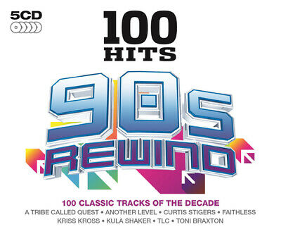 Various Artists : 100 Hits: 90s Rewind CD (2014)