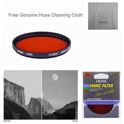 Hoya 67mm Red #25 Multi Coated Glass Filter.  U.S Authorized Dealer