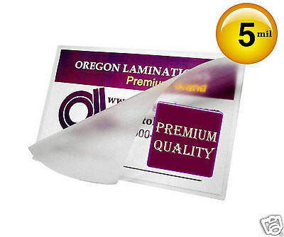 3x5 Hot Laminating Pouches 5 Mil 3 x 5 Small Index Card [100] Clear