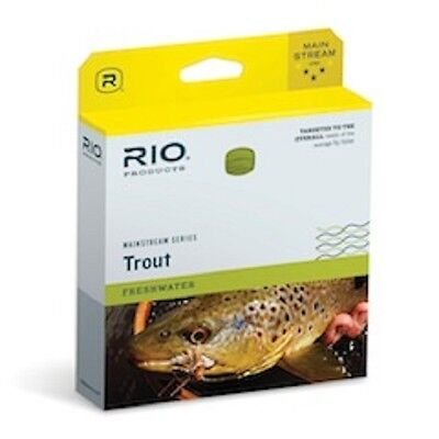 NEW RIO MAINSTREAM TYPE 6 FULL SINK FLY LINE WF6S6 chironimids streamers lakes