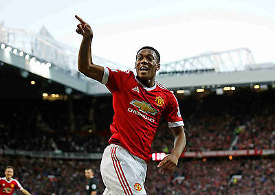 Anthony Martial A4 and A3 Posters