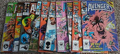 (10) Avengers Comics From #265-282  Vf-Nm