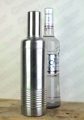 3 Piece Vottle Cocktail Shaker: Full Stainless Steel Construction
