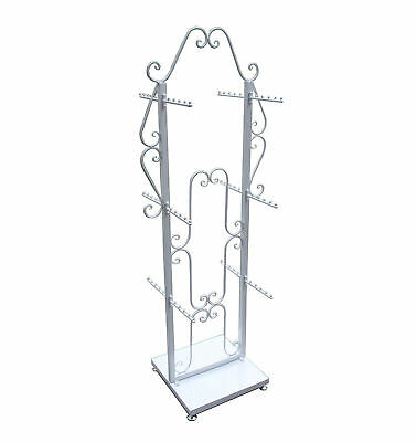 Two Sided Decorative Clothing Purse Jewelry Store Display Hanging Stand100717