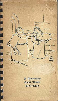 *norman Abbey Oxford England *ethnic 1965 Cook Book *catholic Monks World-Wide