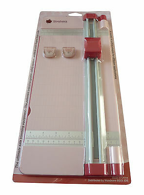 "Woodware FingerGuard Trimmer - 12"" - Includes Straight and Scoring Blades"
