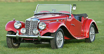 1954 MG Midget TF roadster LHD