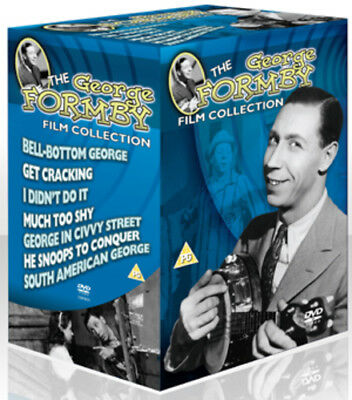 George Formby Film Collection DVD (2010) George Formby ***NEW***