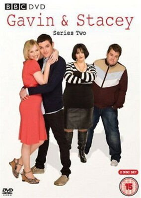 Gavin and Stacey: Series 2 DVD (2008) Joanna Page cert 15 2 discs ***NEW***