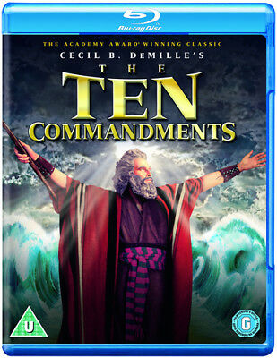 The Ten Commandments DVD (2013) Charlton Heston ***NEW***