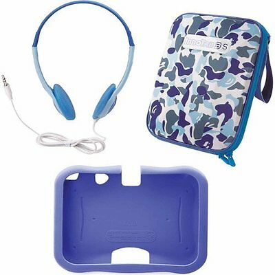 VTech Innotab 3s Accessory Pack Blue Storage Tote Gel Skin And Headphones