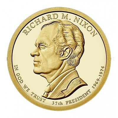USA: 1 dolar 2016 D - 37 º Presidente RICHARD NIXON 1969 -1974   - 1$ USA