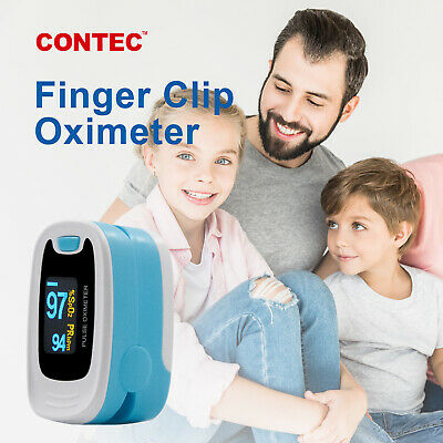 Newest Finger Pulse Oximeter,Blood Oxygen Saturation,SpO2,Case,Rope US  Seller