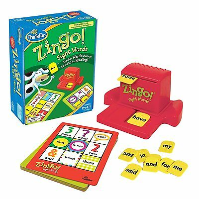 Zingo Sight Words by Think Fun (7704)Teaches sight recognition of essential XTS