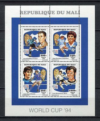 s6955) MALI 1994 MNH** World Cup Football - Coppa Mondo Calcio MS