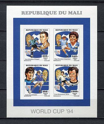 s6956) MALI 1994 MNH** World Cup Football - Coppa Mondo Calcio MS IMPERF