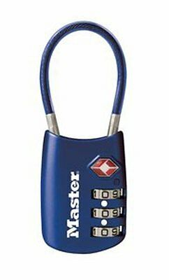 Master Lock 4688D TSA Accepted Cable Luggage Lock in Assorted Colors,1-Pack(CXX)