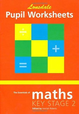 Lonsdale Key Stage 2 Essentials - Maths: Pupil Worksheets Paperback Book The