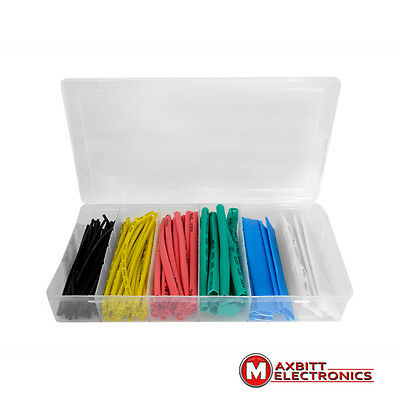Multi Color Heat Shrink Tube Assortment Wire Wrap Electrical Insulation Sleeving