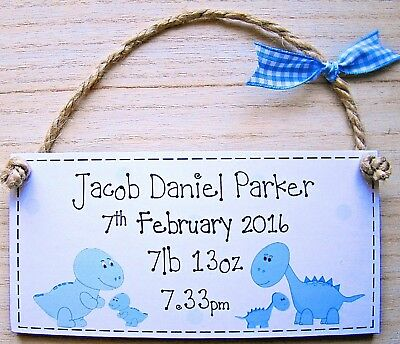 PERSONALISED GIFT baby boy or girl christening or birth handmade keepsake plaque