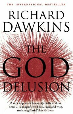 The God Delusion by Dawkins, Richard Paperback Book The Cheap Fast Free Post
