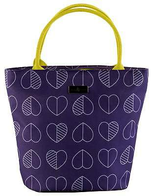 Beau & Elliot Confetti Outline Insulated Lunch Tote - Midnight | Ladies Lunchbag