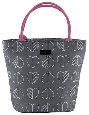 Beau & Elliot Confetti Outline Insulated Lunch Tote - Slate   Ladies Lunch Bag