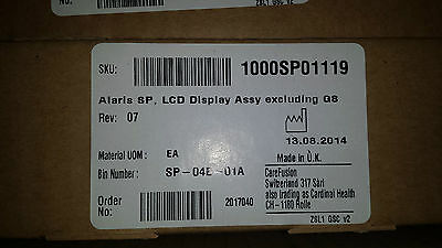 ALARIS SP,LCD Display 1000SP01119  .Tracked Shipping