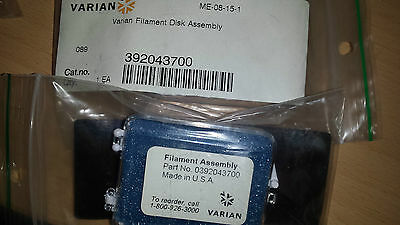 392043700 Varian filament disk assembly .Tracked Shipping
