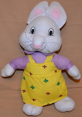 "15"" The Girl Rabbit From Max & Ruby Plush Dolls Toys Stuffed Animals Bunny"