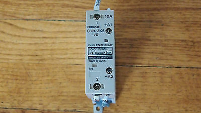 Lot Of 6 Omron G3Pa-210B-Vd Solid State Relay 5-24Vdc 10A  #657