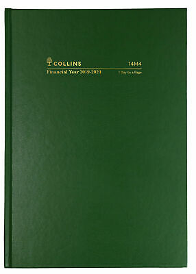 2018 Collins Belmont A5 2 Days to a Page 2 DTP Diary 287.V99-18 22x15.5cm BLACK