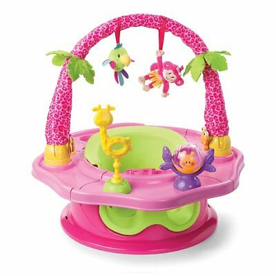 Summer Infant 3-Stage SuperSeat Deluxe Giggles Island Positioner, Booster(13305)