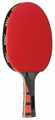 STIGA Evolution Table Tennis Racket [T1281] Approved Rubberfor Tournament Play