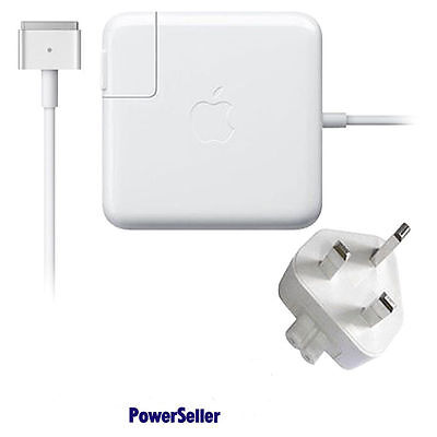 Genuine Original Apple 60W Macbook Pro MagSafe 2 AC Adapter Charger A1435 A1502