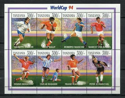 s7048) SAO TOME' & PRINCIPE 1994 MNH** WC Football'94- CM Calcio MS
