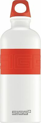 Sigg - CYD Pure White Touch Red - 0.6L - NEW Drink Bottle - FREE UK Delivery