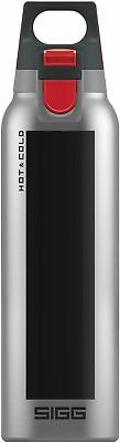Sigg - Hot & Cold One Accent Black - 0.5L - NEW Drink Bottle - FREE UK Delivery