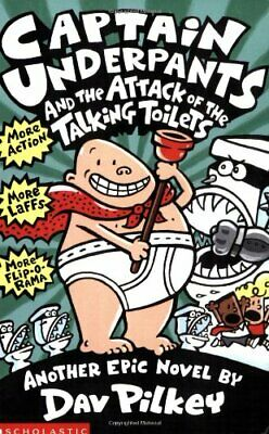 Captain Underpants and the Attack of the Talking  To... by Pilkey, Dav Paperback