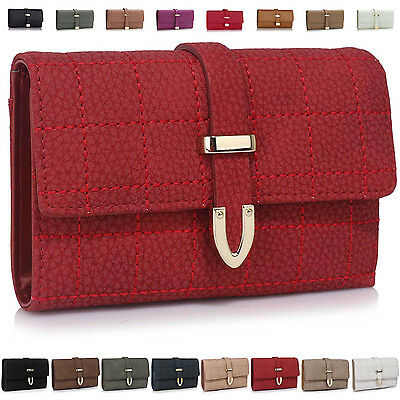 Large Women Purse Faux Leather Girl Designer Ladies Wallet Coin Clear Photo Bag