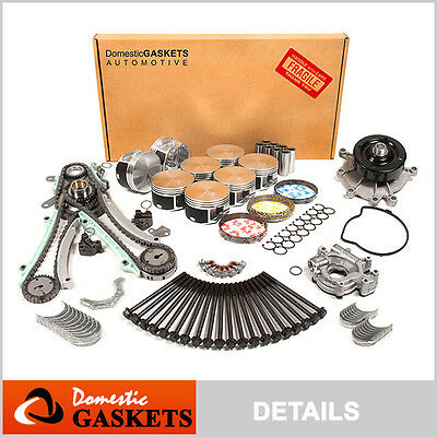 04-07 Dodge Dakota Durango Ram Chrysler Jeep 4.7L Overhaul Engine Rebuild Kit