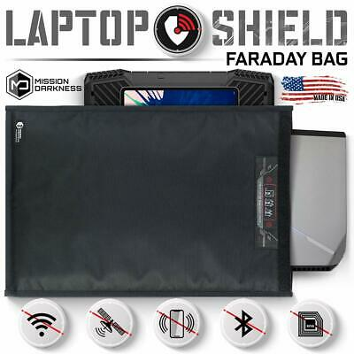 Mission Darkness Large Non-Window Faraday Bag for Laptops